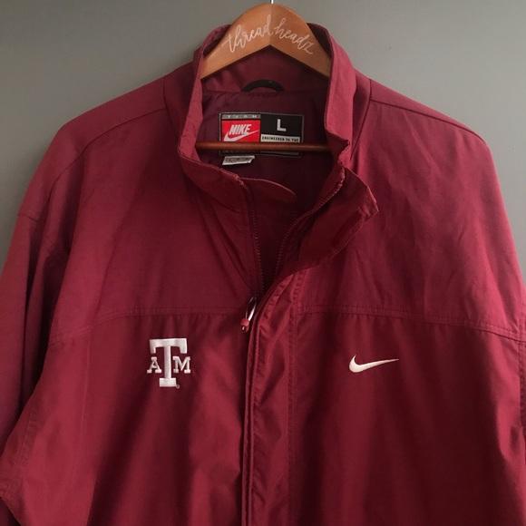 f52fd638a Nike Jackets & Coats | Vintage Texas Am Embroidered Jacket | Poshmark